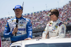 Michael Waltrip and Carl Edwards, Joe Gibbs Racing Toyota