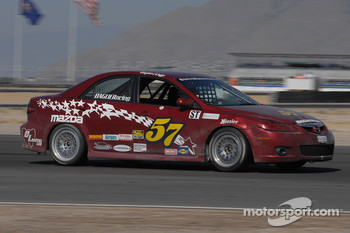 #57 Baglieracing Mazda 6: Dennis Baglier, Marty Luffy