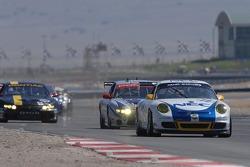Start: #72 Tafel Racing Porsche GT3 Cup: Wolf Henzler, Robin Liddell, Andrew Davis