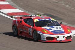 #63 Scuderia Ecosse Ferrari 430 GT2: Chris Niarchos, Tim Mullen