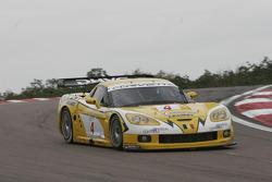#4 GLPK Carsport Corvette C6R: Bert Longin, Anthony Kumpen, Mike Hezemans