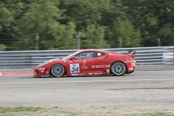 #34 JMB Racing Ferrari 430 Challenge GT3: Stephane Daoudi, Hector Lester