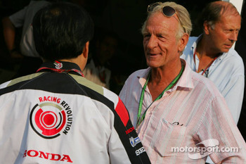 John Button, father of Jenson Button