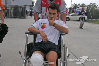 A bad day for Dani Pedrosa