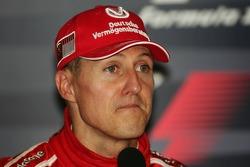 FIA press conference: race winner Michael Schumacher