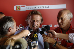 Luca di Montezemolo and Antonio Ghini