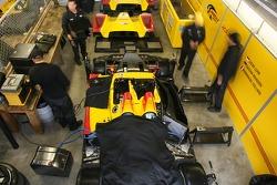 Penske Motorsports garage area