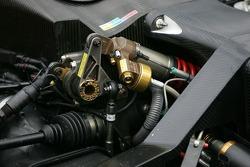 Audi Sport North America Audi R8 suspension detail
