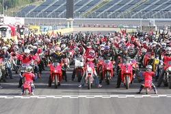 Ducati parade