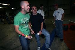 Marino Franchitti and Bryan Sellers