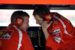 Ross Brawn and Stefano Domenicali