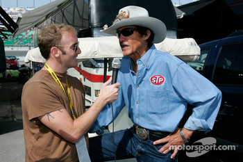 Actor/Comedian Jay Mohr interviews Richard Petty