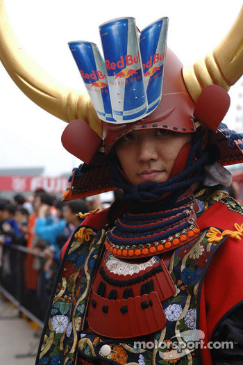 Red Bull Racing samurai