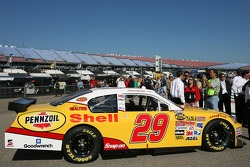 Richard Childress Racing Shell sponsorship press conference: the Shell/Pennzoil 2007 Chevrolet Monte Carlo SS