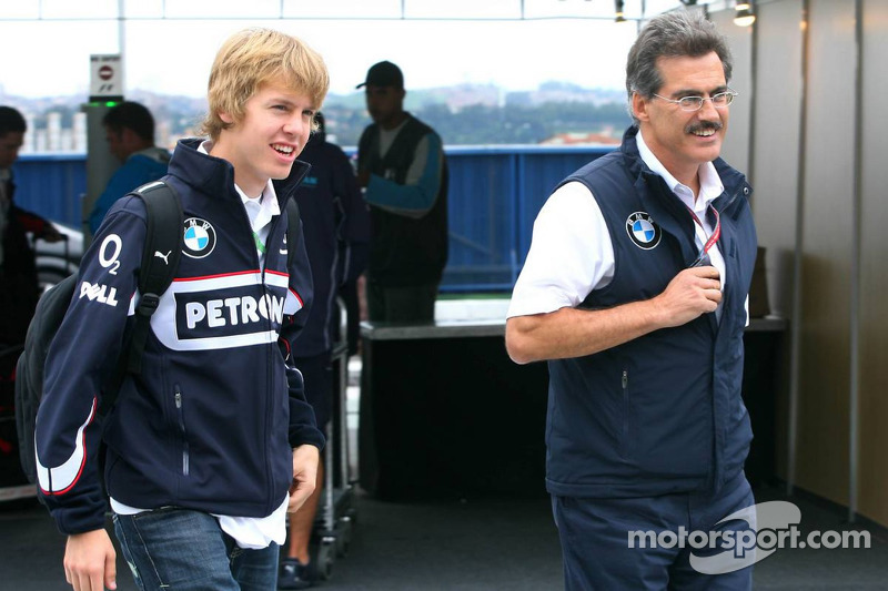 Dr. Mario Theissen and Sebastian Vettel
