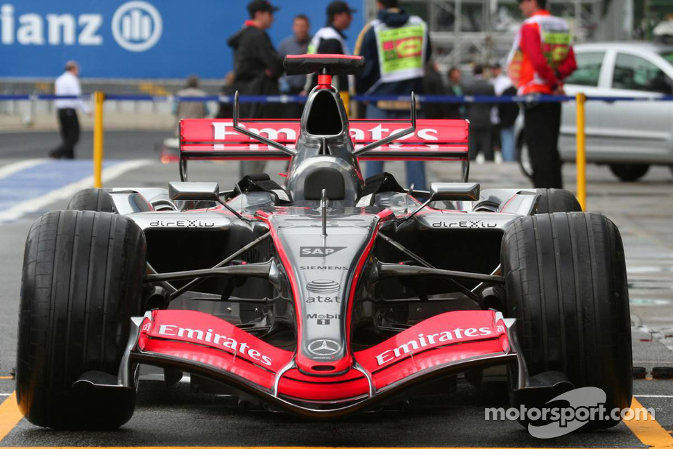 McLaren Mercedes MP4-21