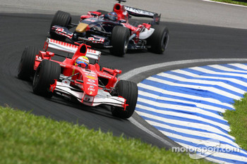 Felipe Massa and Scott Speed