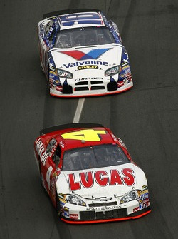 Ward Burton leads Scott Riggs