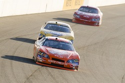 Tony Stewart leads David Gilliland