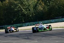Salvador Duran leads Nico Hulkenberg
