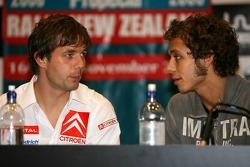 Press conférence: Sébastien Loeb and Valentino Rossi