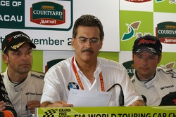 Press conference: Jorg Muller, Mario Theissen, Andy Priaulx