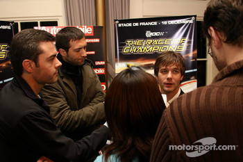 Press conference: Sbastien Loeb