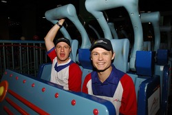 Cosmos World Theme Park, Kuala Lumpur: Tomas Enge and Jaroslav Janis