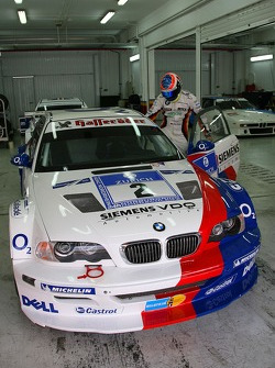 Historic BMW Cars: Dirk Muller drives the BMW M3 GTR