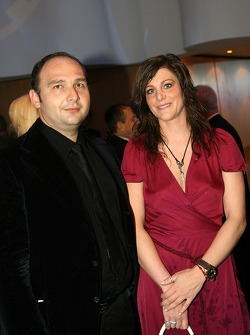 Colin Kolles and wife