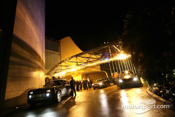 Guests arrive at the FIA Prize Giving Gala in Monaco