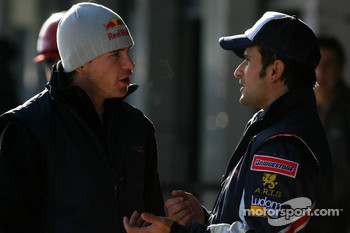 Scott Speed and Vitantonio Liuzzi