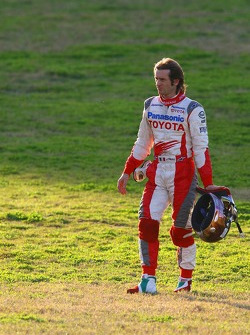 Jarno Trulli stopped on track