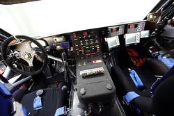 Volkswagen Motorsport presentation in Dubai: cockpit of the Volkswagen Race Touareg 2