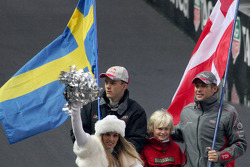 Mattias Ekström and Tom Kristensen
