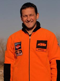 Team Repsol presentation: Jo Fahrmer, mechanic of Giovanni Sala