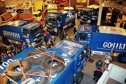 Team de Rooy presentation at the DAF museum: overall view