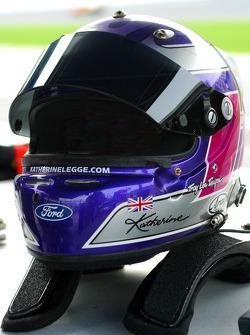Helmet of Katherine Legge