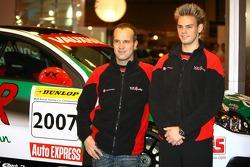 Fabrizio Giovanardi and Tom Chilton, Vauxhall BTCC