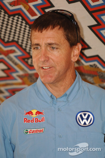 Volkswagen Motorsport press conference: Mark Miller