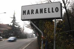 Maranello street sign