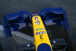 Renault F1 Team R27 front wing detail