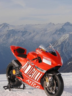 The Ducati Desmosedici GP7