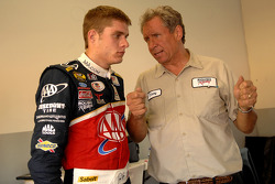 David Ragan with Jimmy Fennig