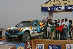 Car category podium: Carlos Sousa and Andreas Schulz