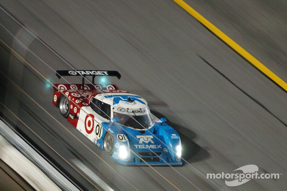 #01 TELMEX Chip Ganassi with Felix Sabates Lexus Riley: Scott Pruett, Salvador Duran, Juan Pablo Montoya