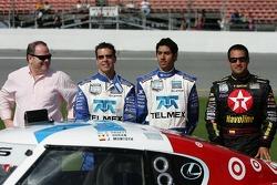 #01 TELMEX Chip Ganassi with Felix Sabates Lexus Riley: Scott Pruett, Salvador Duran, Juan Pablo Montoya