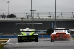 #75 Krohn Racing Pontiac Riley: Colin Braun, Max Papis, JJ Lehto, #22 Alegra Motorsports/ Fiorano Racing Porsche GT3 Cup: Carlos de Quesada, Jean-François Dumoulin, Scooter Gabel, Marc Basseng