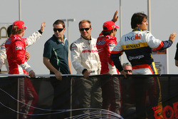 Fernando Alonso and Rubens Barrichello