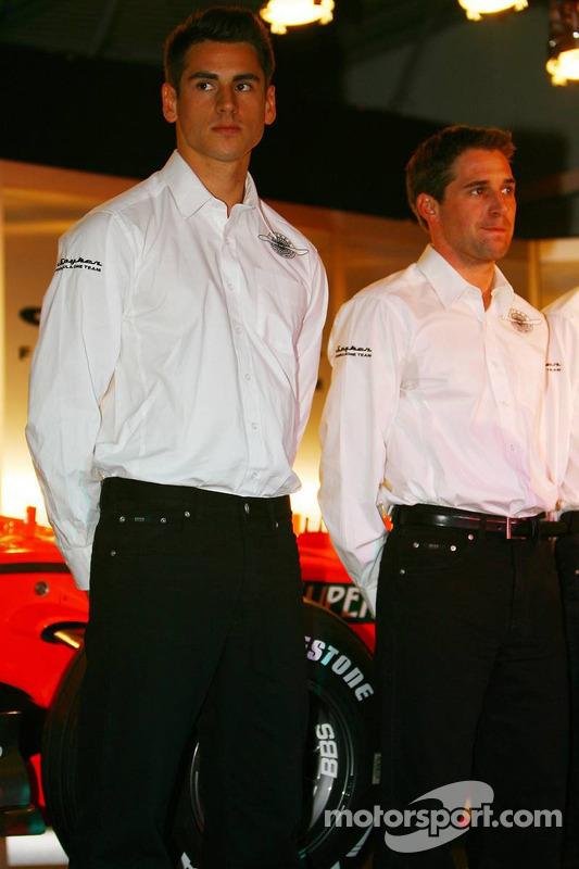 Adrian Sutil and Christijan Albers